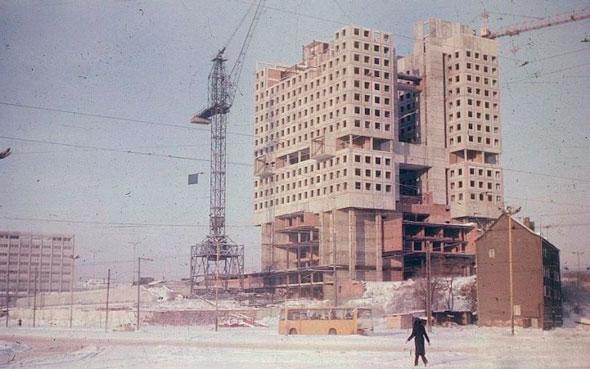 Дом Советов 70-е годы