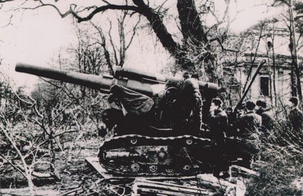 Бр-5 на позиции.
