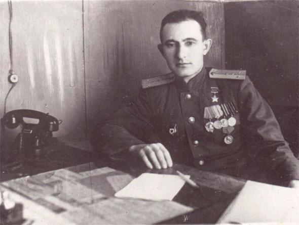 Бабушкин Р.Р. после войны.