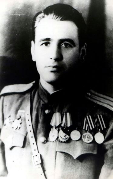 Подполковник Яновский П.Г.