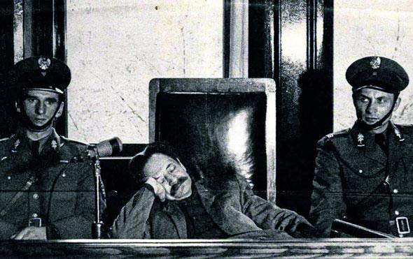 Эрих Кох на суде 1958г.