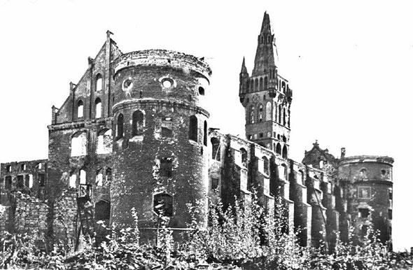 Руины Королевского замка