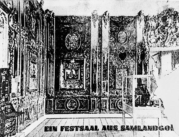 Фрагмент публикации о Янтарной комнате в Кёнигсберге