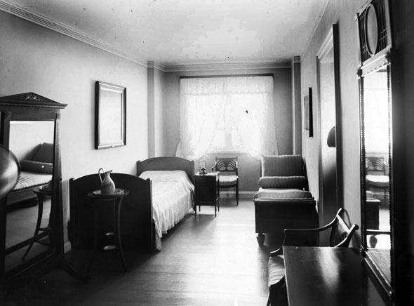 Спальня королевы Луизы.