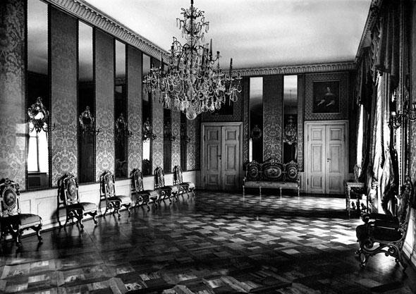 Зеркальный зал Королевского замка.